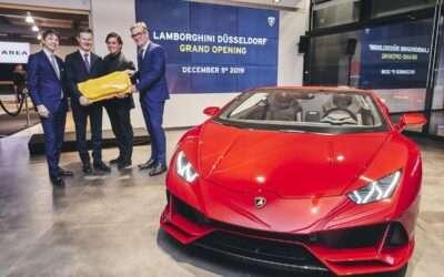 Grand Opening – Lamborghini Düsseldorf eröffnet umgestalteten Showroom